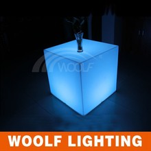 event led cube chair&model and fashion led chair 3D cube