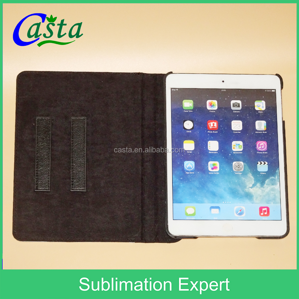 Factory direct computer set Custom Blank sublimation Swivel Stand 360 degrees to the Tablet PC case For Apple iPad Mini 2