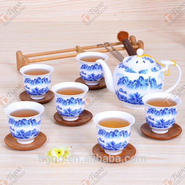 TG-405W230-W-4 ceramic tea set for wholesales xingyue 150cc