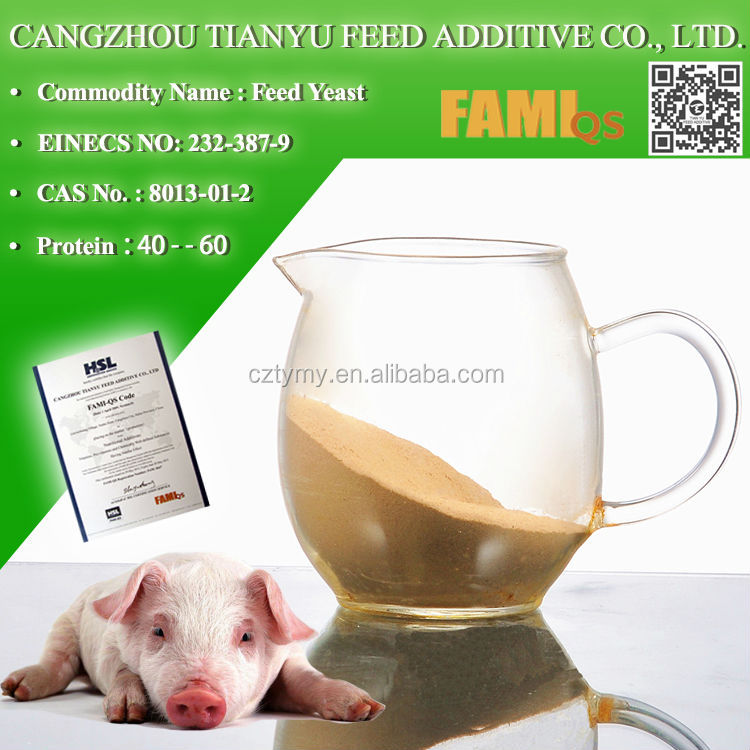 Feed Yeast 60%/animal feed raw material/yeast for poultry