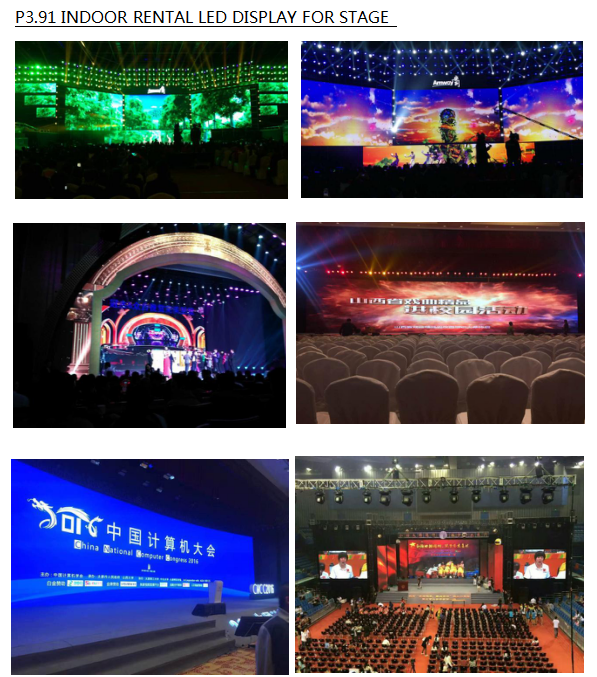 dance floor P4.81 full color outdoor waterproof led display