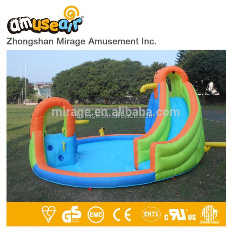 Spongebob Inflatable Water Slides Slide With Pool Summer Party