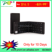Promotional price pocket size Folding Bluetooth Wireless Keyboard for iOS Android PC PK-15