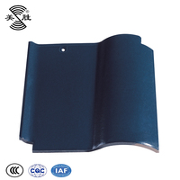 Solid color clay ceramic high quality roof tile