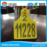 animal management system no number blank cow ear tag for sale