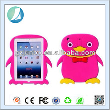 Penguin Animal Shape Cute Silicon Case for iPad Mini