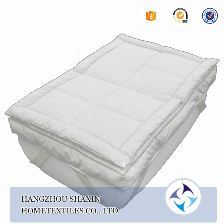 Fashion design white washable bed bug mattress pad cover