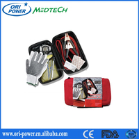 OP wholesale DIN13164 FDA CE ISO approved oem waterproof EVA vehicles auto car accident first aid kit