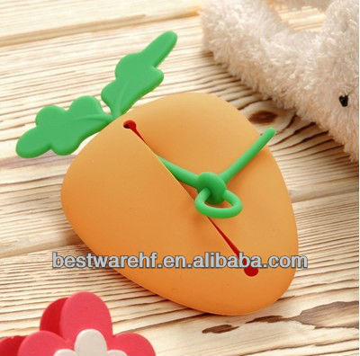 2013 New Carrots silicone key cover case& ba key shell.Carrots plastic key case
