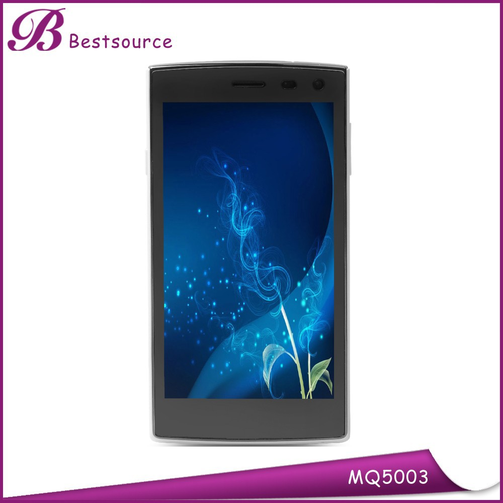 New 5'' Android Quad Core 1GB+8GB Dual Sim Card 5.0MP Camera GPS Wholesale Used Transparent Mobile SmartPhone Price