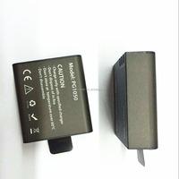 action camera rechargeable lithium battery 1050mah for EKEN H8R EKEN H9R