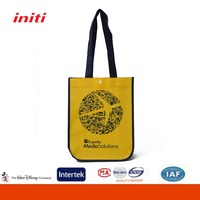 Durable Long Handle Factory Supply Pp Woven Shopping Bag