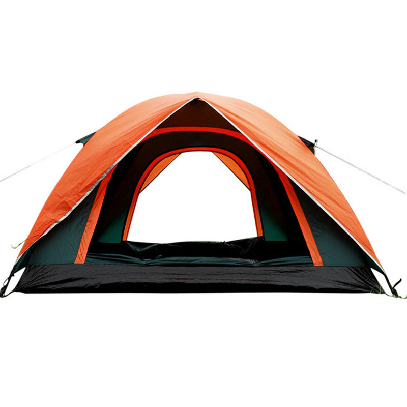2016 Hot Sale Double Layer 3 4 Person Rainproof Ourdoor Camping Tent for Hiking Fishing Hunting Adventure Picnic Party