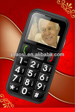 large keypad with large screen mobile phone