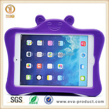 Brand new kids shockproof rubber silicone case for apple ipad mini 2