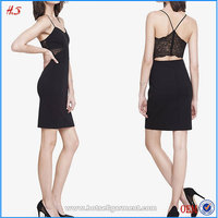Black Lace Back Christmas Dresses New Arrival Sexy Pictures Of Elegant Casual Dresses Wholesale Dresses For Women Elegant
