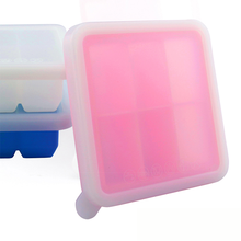 2018 Custom Silicone Ice Cube Food Storage Baby Freezer Storage Tray