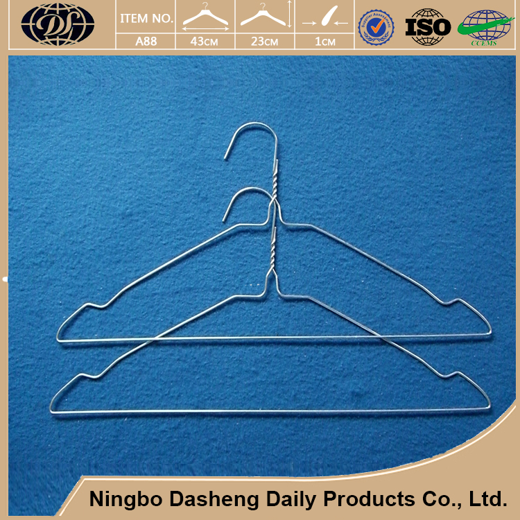 plastic PE coated metal wire clothes hangers