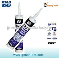 roof and gutter no slump silicone two component sealant
