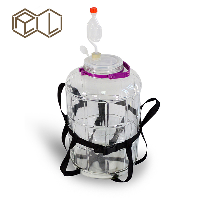 25L Carboy with Strap and Airlock Home brew
