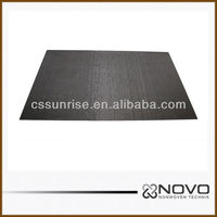 High tensile strength solid carbon fiber sheet 400mm*500mm*2mm