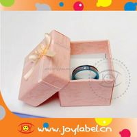 High Quality Custom foldable paper jewellery box