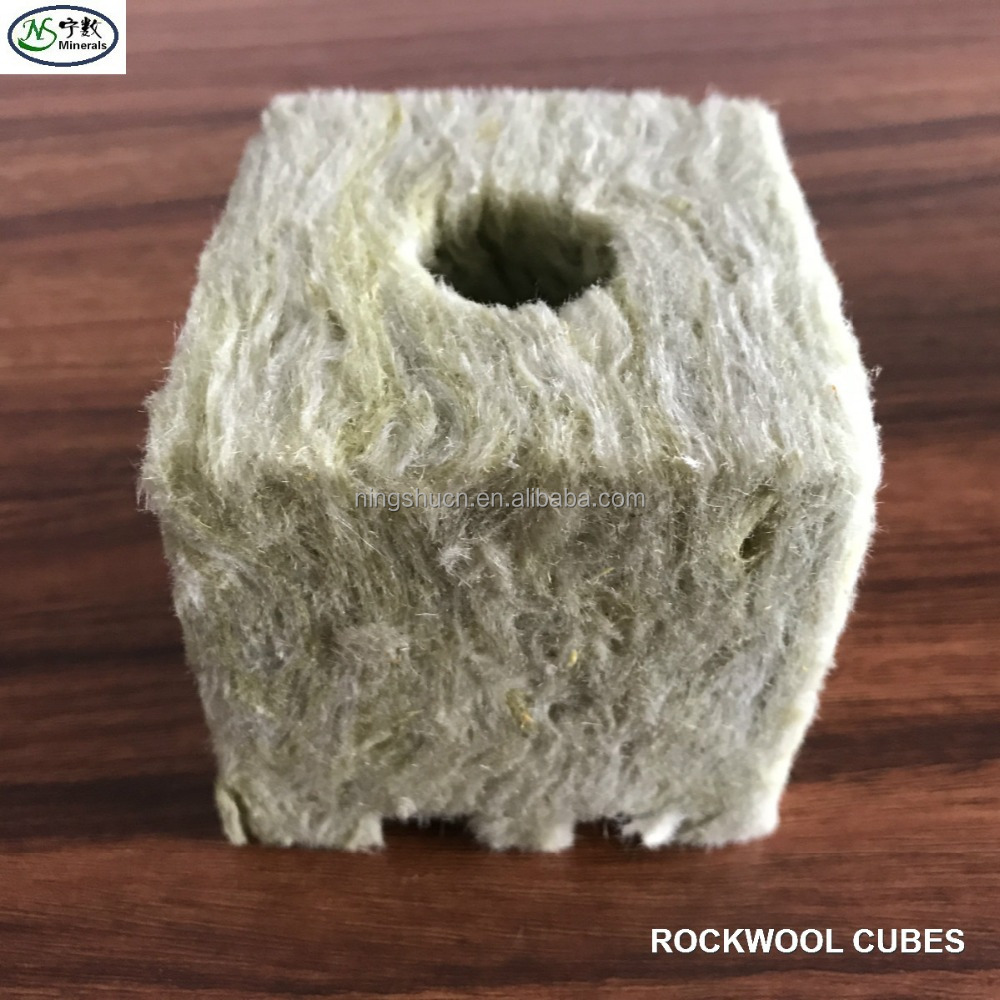 Wholesale agricultural growing cubes rockwool hydroponic for sale