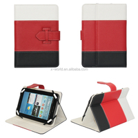 Multi Color PU Leather Universal Case for Tablet with Stand