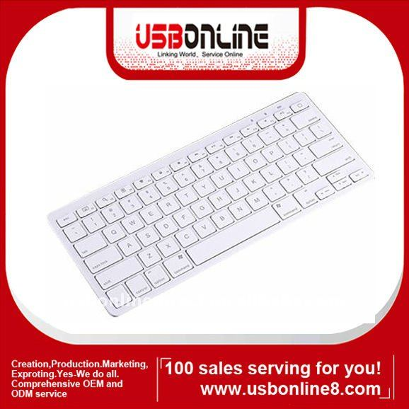 Bluetooth Wireless Keyboard For iPad 2 3 Gen Macbook Mac Computer PC Tablet Smartphone HTPC