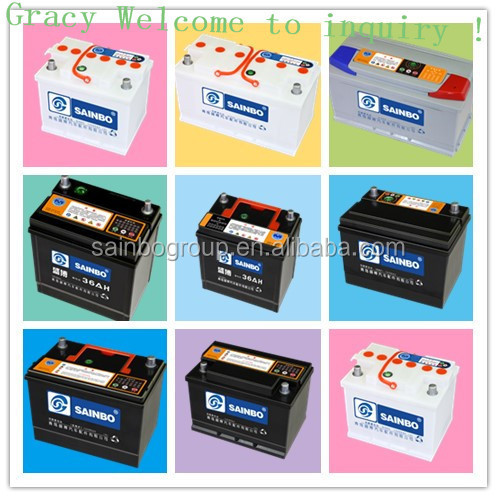 12V MF battery lead acid battery car battery 2135