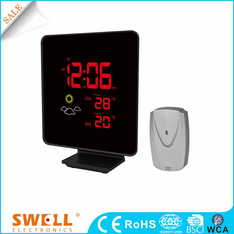 wireless garden temperature station , household weather monitor station