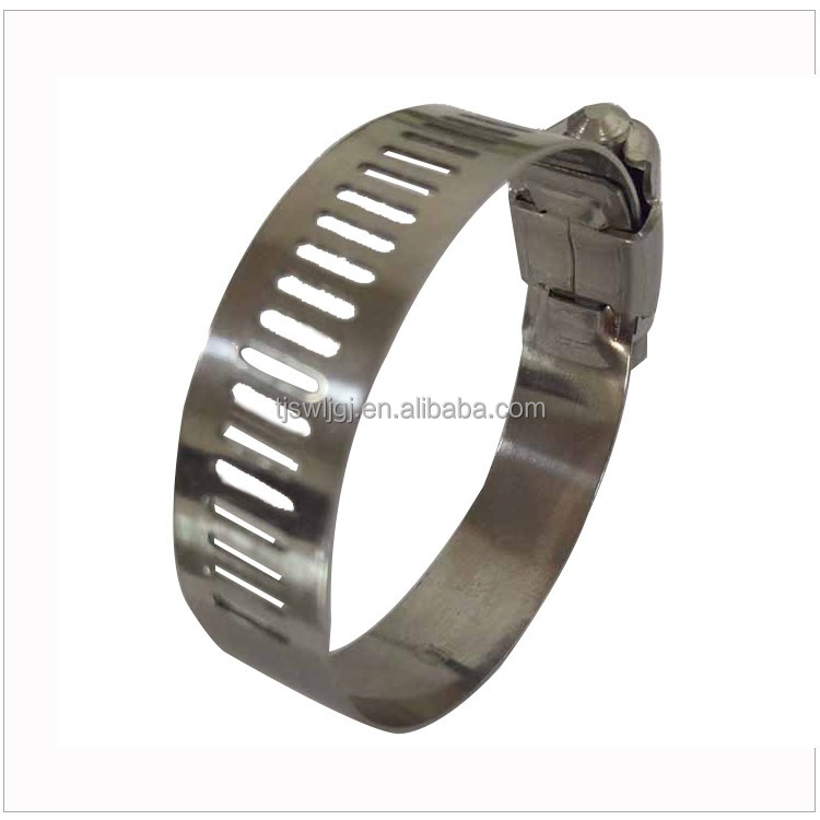 all kind of size American type Worm Drive air hose clamp