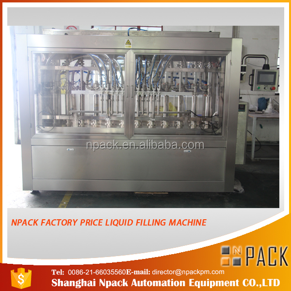 automatic 10 nozzle olive oil filling machine