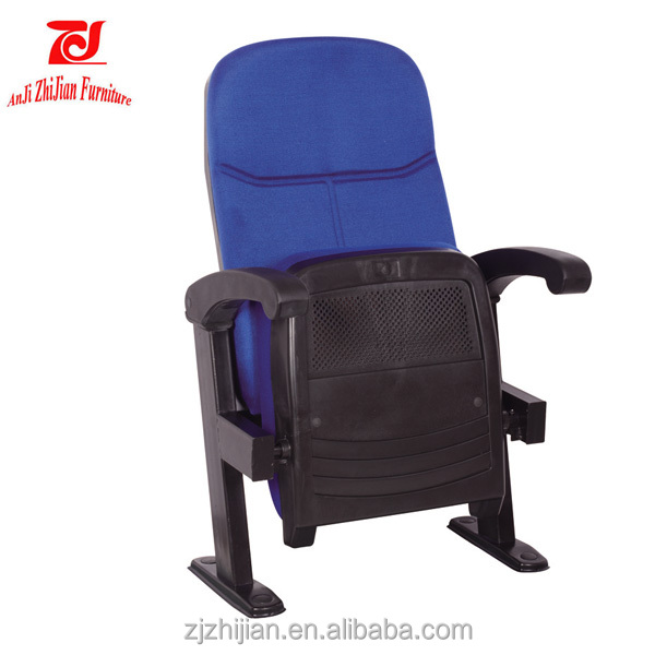 New Real Movie Cinema Theater Seating Chairs Star Delight Rocker With Cup Holder ZJ1805