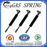 Bridge style brackets gas shock absorbers with double plug
