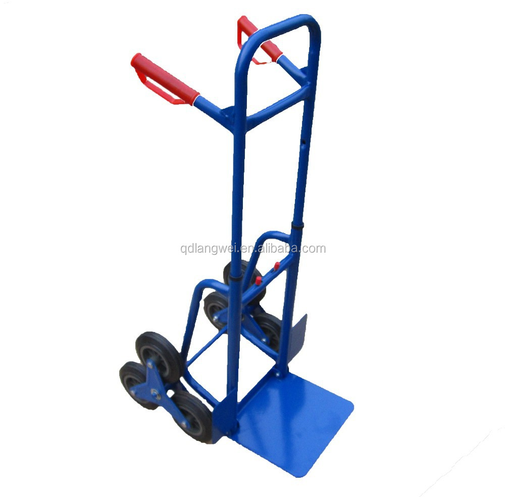 six wheel hand trolley for climbing stairs Hand Trolley/ truck