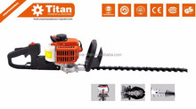 "Powered gas hedge trimmer 1E32F,single cylinder, double edge 24"" 60cm with CE, MD,EUII certificate"