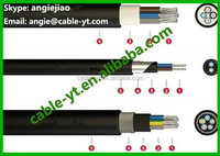 NHXH-FE 180/E 90 power cable, halogen-free, 0,6/1 kV, with improved fire characteristics