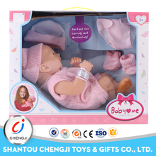 Non toxic safety cheap 14 inch full silicone baby reborn dolls for sale