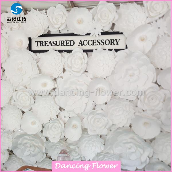 Wholesale Oem Fashion White Large Paper Flowers - Buy White Large ...