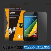 2015 New Top Quality 9H 2.5D Anti-broken Anti-glare Tempered Glass Screen Protector for Motorola Moto X Play