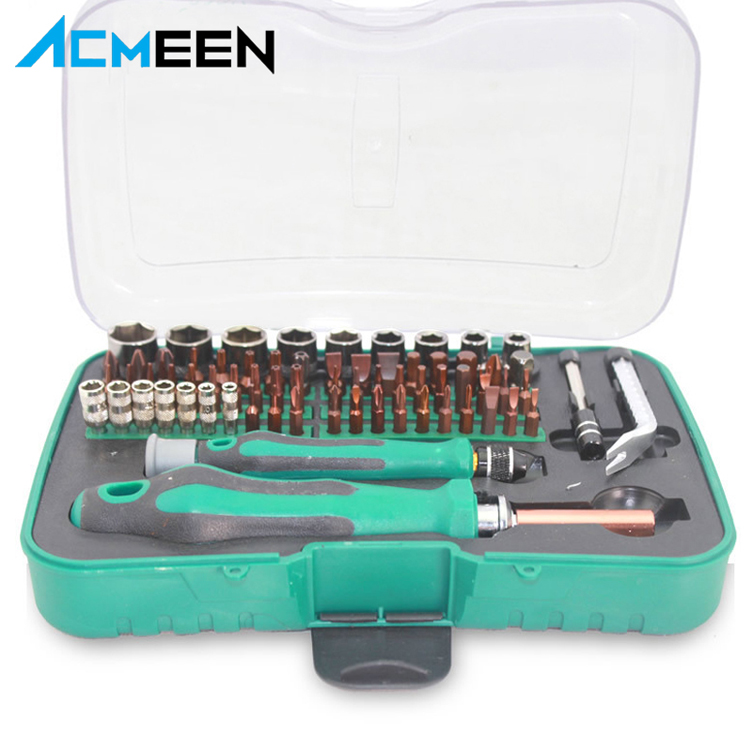 70 in 1 multi-function Screwdriver Set disassemble tool with S2 alloy steel for Laptop mobile phone disassemble