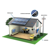 600kw On Grid Solar House Power System for Home