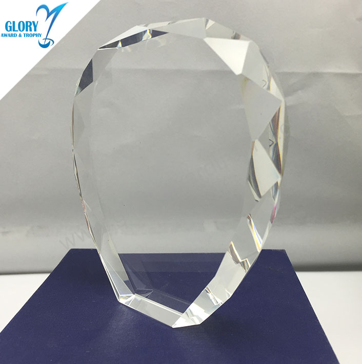 Crystal Block For Engraving Corrugated Glass