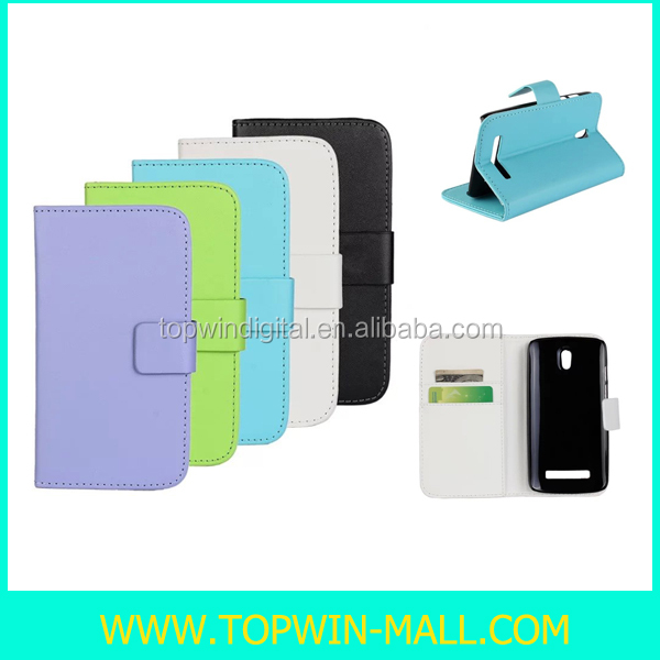 Hot Sell Wallet Flip Cover Phone Case For HTC Desire 500 506E
