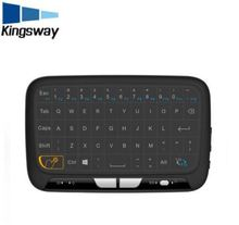 2017 new model H18 2.4G wireless mini touchpad keyboard for Smart TV computer android box