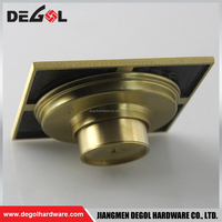 Factory price antique brass stainless steel bathroom basement floor drain grate