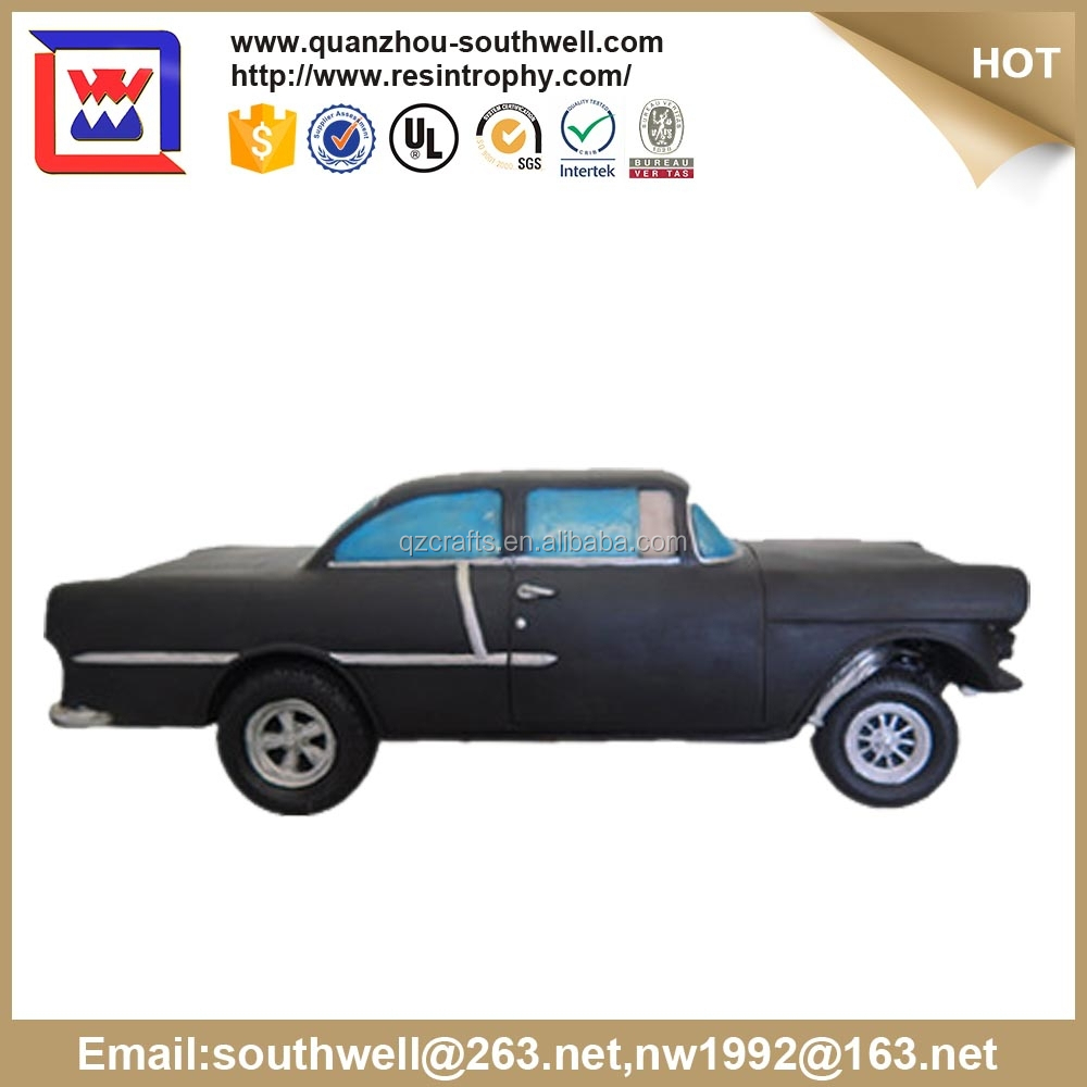 custom design hot selling model car and polyresin resin car model for sale