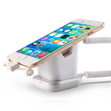 Exhibition Security Sensor Cell Phone Holder For Desk