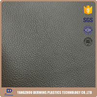 2016 Embossed,Back printed, New Design, Semi Pu leather for Furniture
